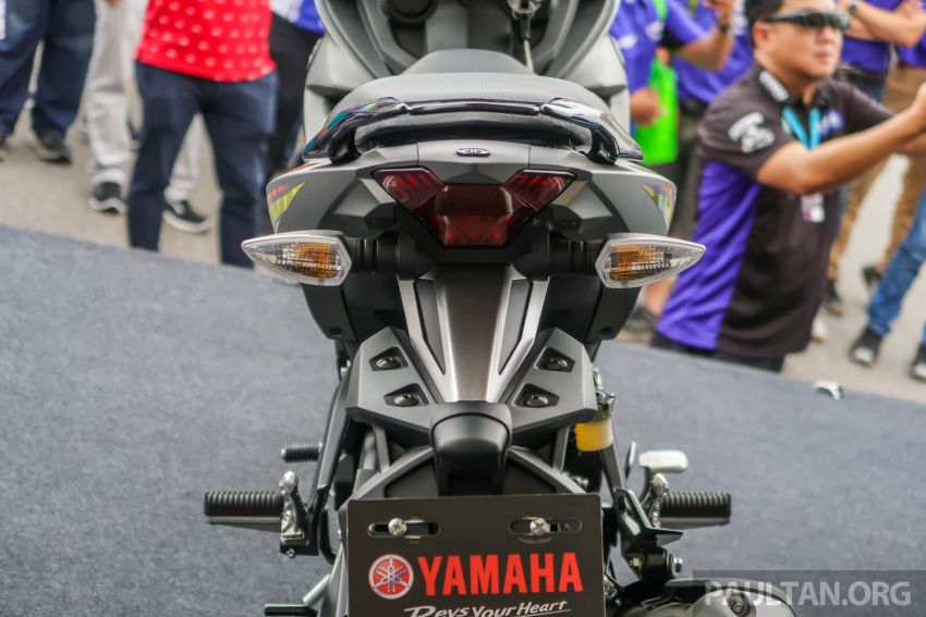 2019 Yamaha Y15ZR shown in Malaysia – price in April Image #938023