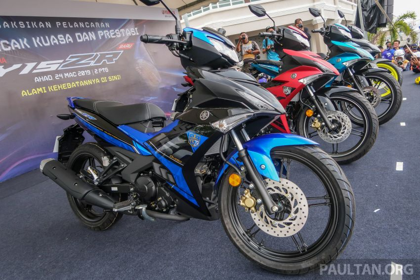 2019 Yamaha Y15ZR shown in Malaysia – price in April Image #938000