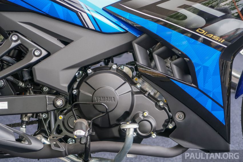 2019 Yamaha Y15ZR shown in Malaysia – price in April Image #938030