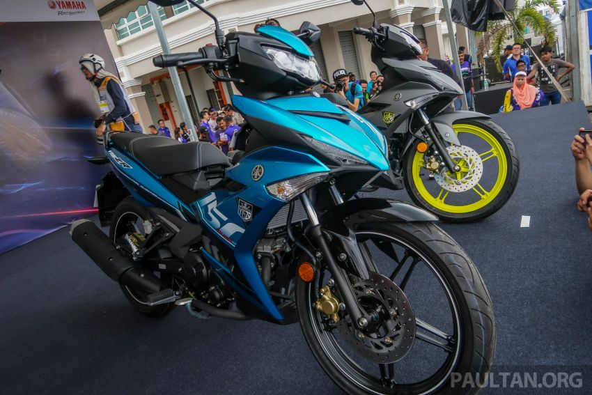 2019 Yamaha Y15ZR shown in Malaysia – price in April Image #938002