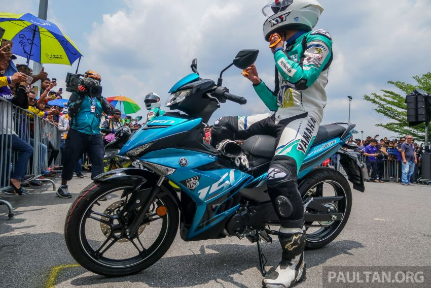 2019 Yamaha Y15ZR shown in Malaysia – price in April Image #938004