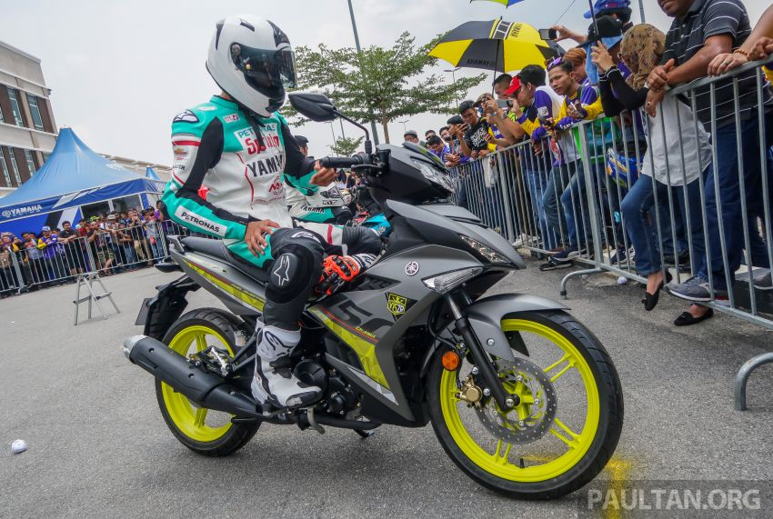 2019 Yamaha Y15ZR shown in Malaysia – price in April Image #938005