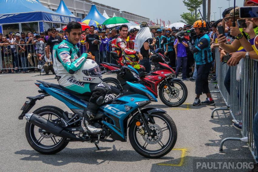 2019 Yamaha Y15ZR shown in Malaysia – price in April Image #938006