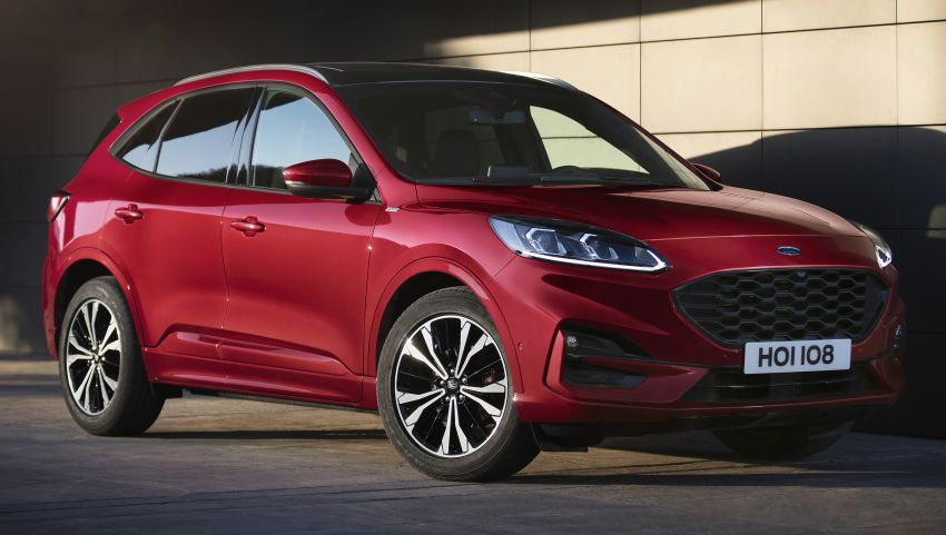 2019 Ford Kuga unveiled: mild, full and plug-in hybrids Image #942262