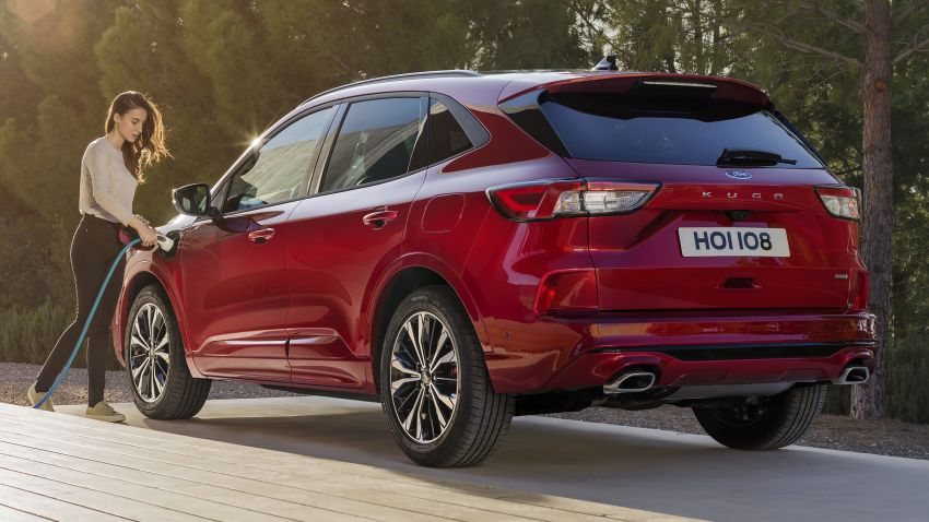 2019 Ford Kuga unveiled: mild, full and plug-in hybrids Image #942250