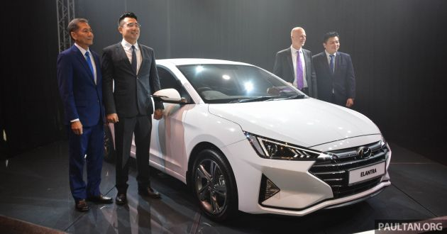2019 Hyundai Elantra Ad Facelift Launched In Malaysia From Rm110k