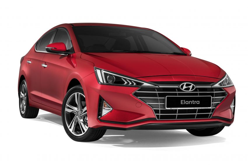 2019 Hyundai Elantra facelift launched – from RM110k Image #950574