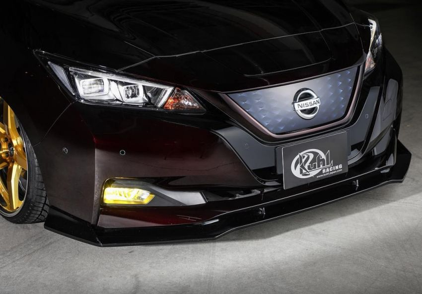 2019 Nissan Leaf gets aggressive look by Kuhl Racing Image #942363