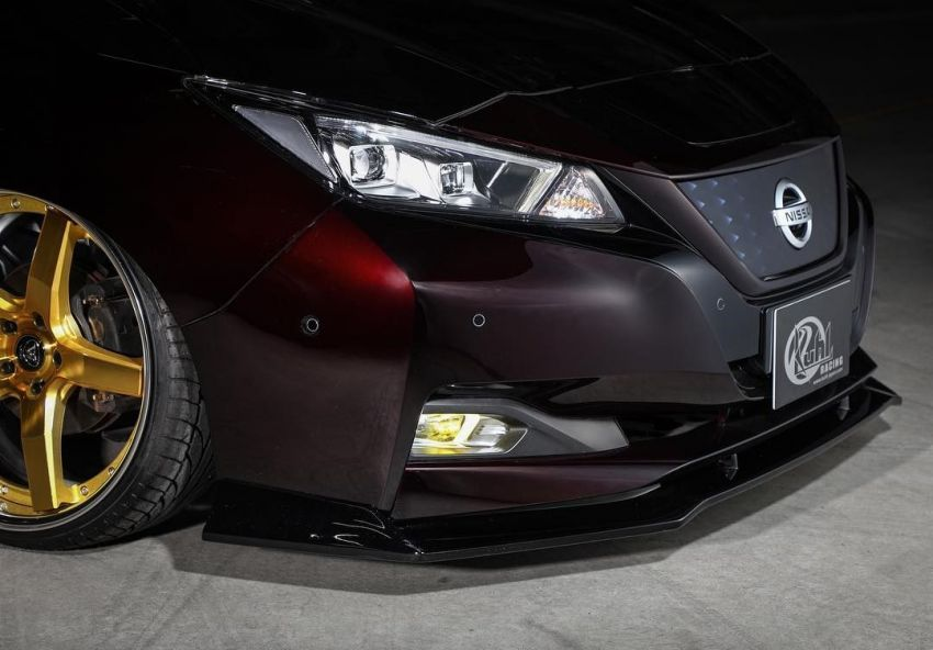 2019 Nissan Leaf gets aggressive look by Kuhl Racing Image #942364