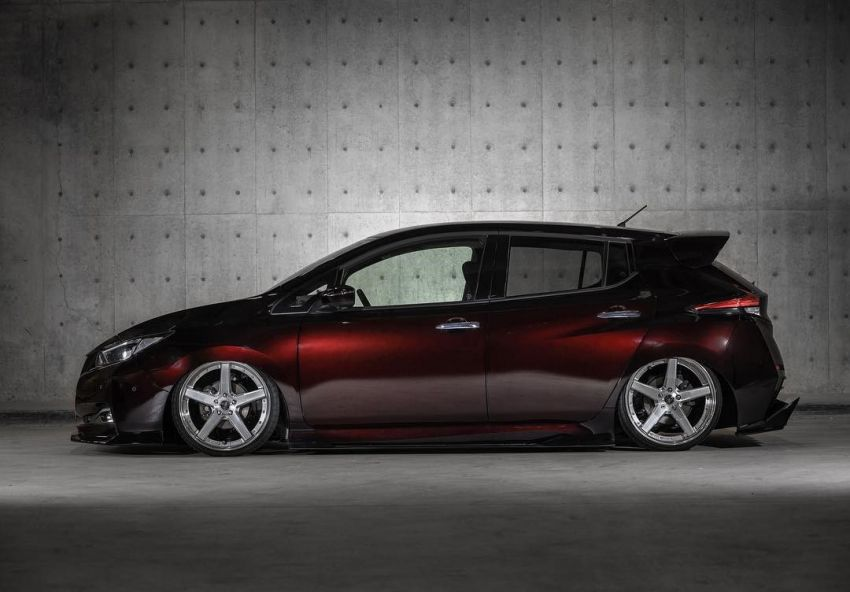 2019 Nissan Leaf gets aggressive look by Kuhl Racing Image #942371