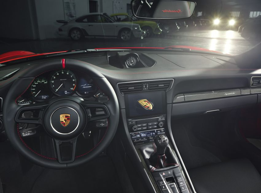 2019 Porsche 911 Speedster debuts – 1,948 units only Image #948884