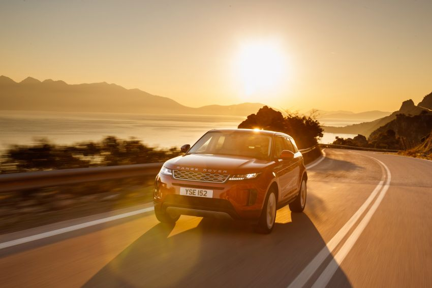 MEGA GALLERY: 2019 Range Rover Evoque in Greece Image #951801