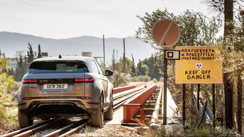 MEGA GALLERY: 2019 Range Rover Evoque in Greece Image #951959