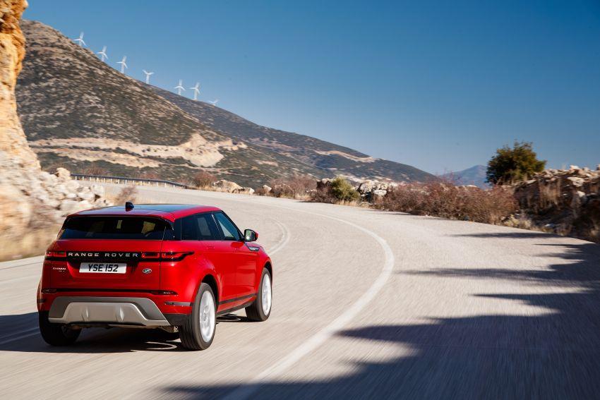 MEGA GALLERY: 2019 Range Rover Evoque in Greece Image #951802