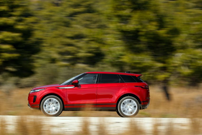 MEGA GALLERY: 2019 Range Rover Evoque in Greece Image #951804