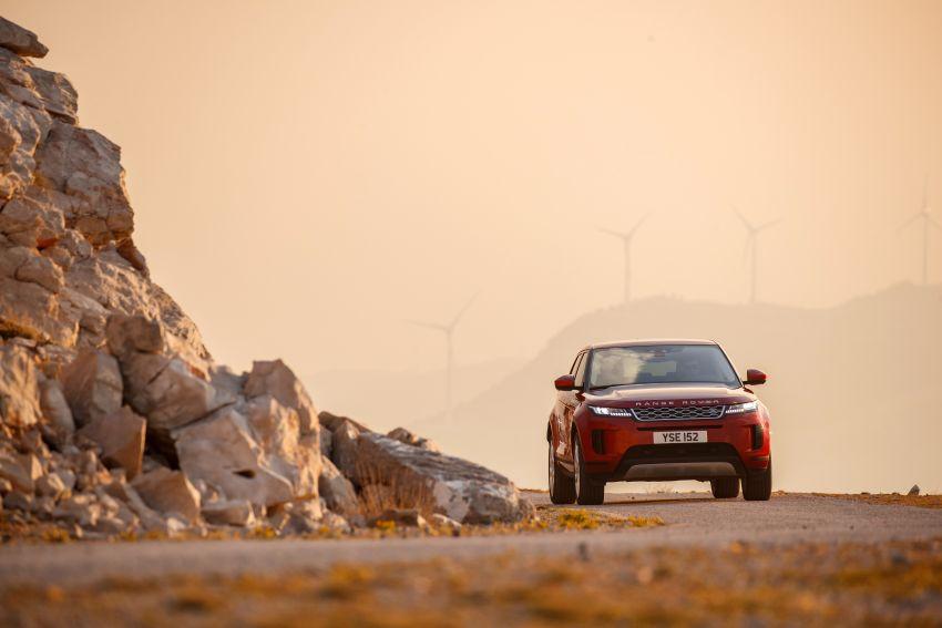 MEGA GALLERY: 2019 Range Rover Evoque in Greece Image #951805