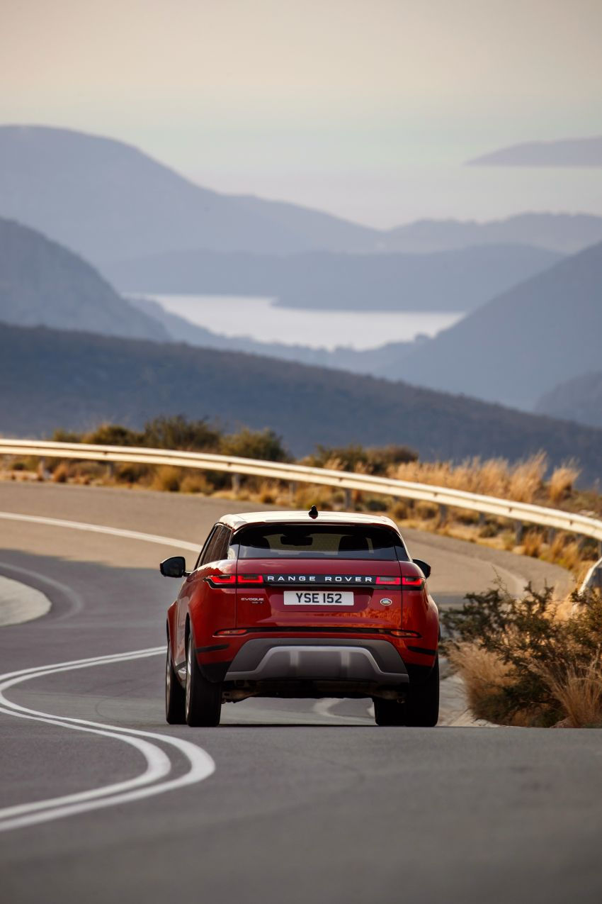MEGA GALLERY: 2019 Range Rover Evoque in Greece Image #951806