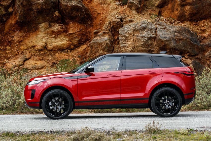 MEGA GALLERY: 2019 Range Rover Evoque in Greece Image #951793