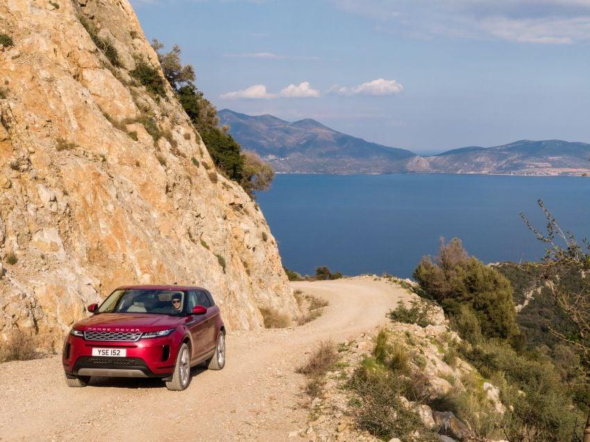 MEGA GALLERY: 2019 Range Rover Evoque in Greece Image #951813