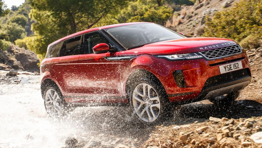 MEGA GALLERY: 2019 Range Rover Evoque in Greece Image #951815