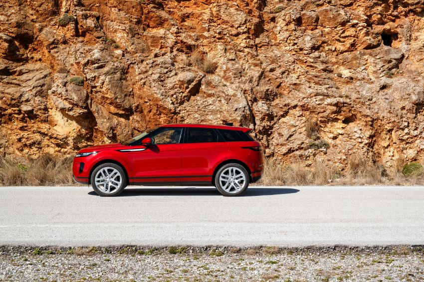 MEGA GALLERY: 2019 Range Rover Evoque in Greece Image #951817