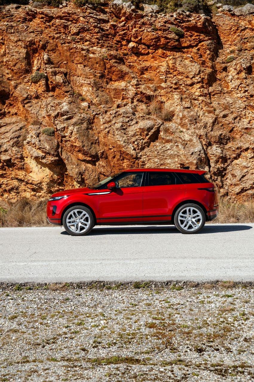 MEGA GALLERY: 2019 Range Rover Evoque in Greece Image #951818