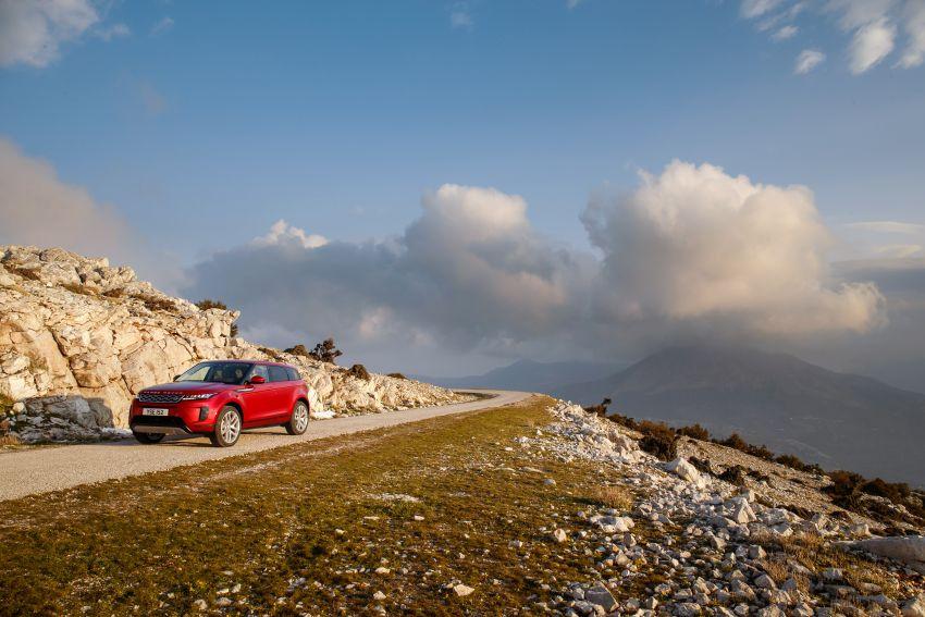 MEGA GALLERY: 2019 Range Rover Evoque in Greece Image #951819