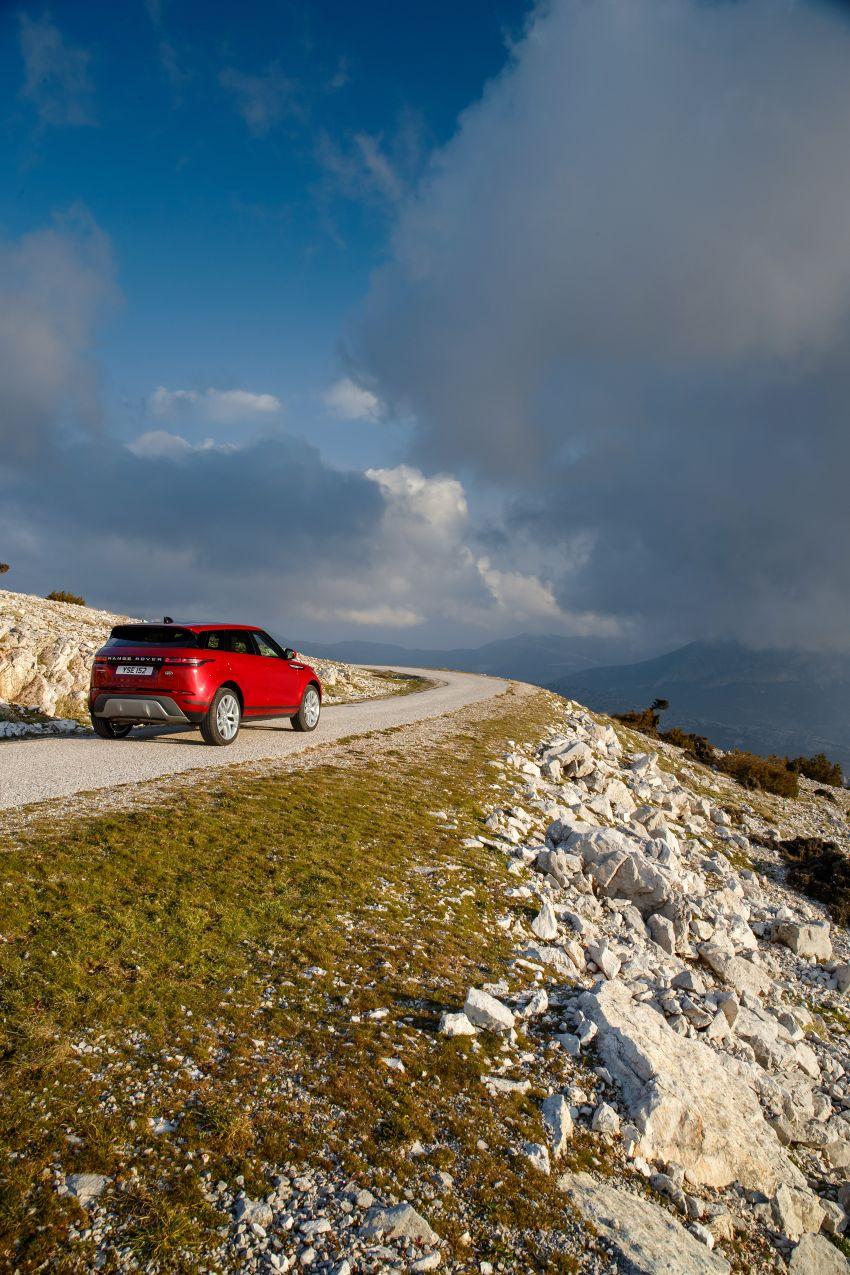 MEGA GALLERY: 2019 Range Rover Evoque in Greece Image #951820