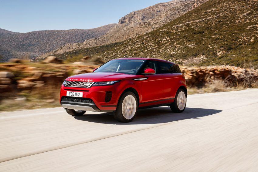 MEGA GALLERY: 2019 Range Rover Evoque in Greece Image #951794