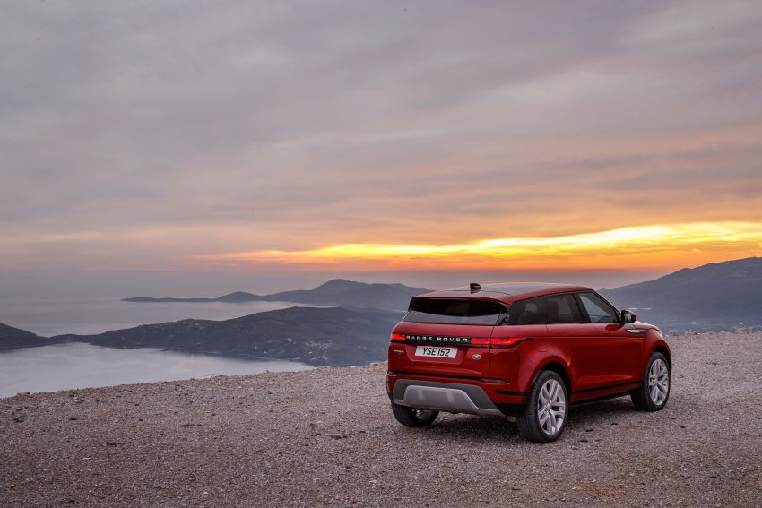 MEGA GALLERY: 2019 Range Rover Evoque in Greece Image #951821