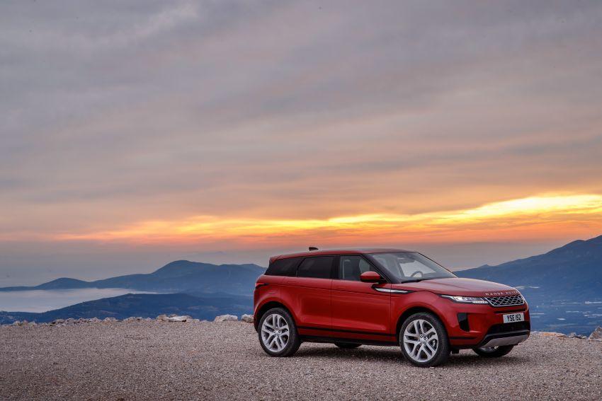 MEGA GALLERY: 2019 Range Rover Evoque in Greece Image #951822