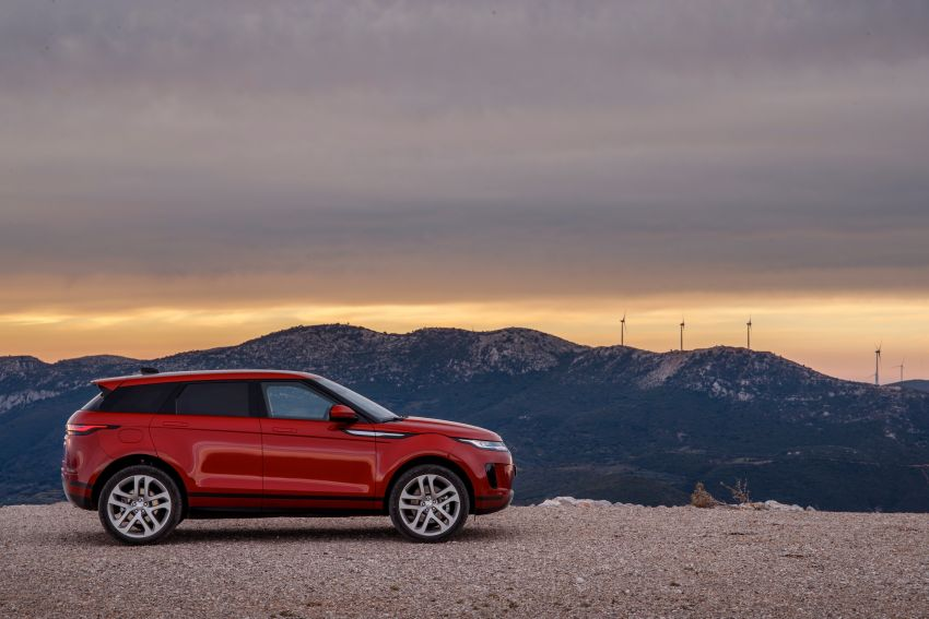 MEGA GALLERY: 2019 Range Rover Evoque in Greece Image #951823
