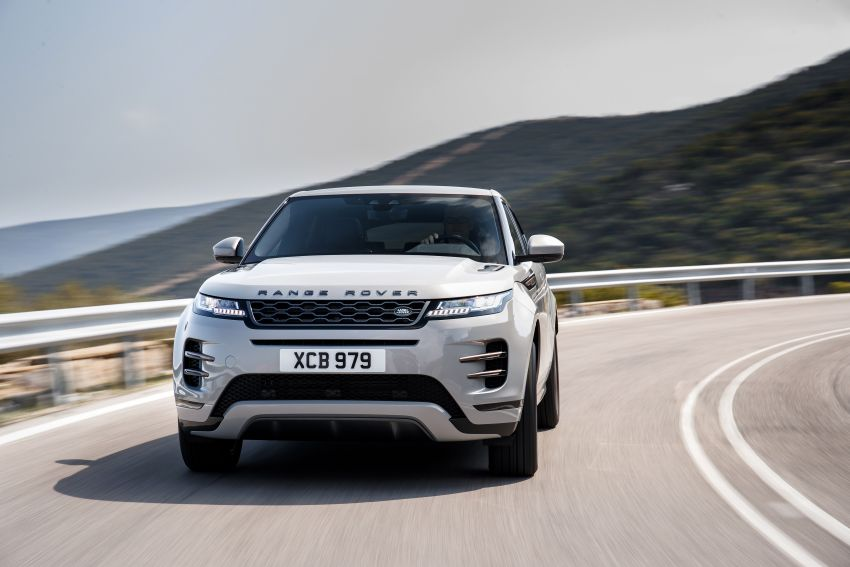 MEGA GALLERY: 2019 Range Rover Evoque in Greece Image #951824