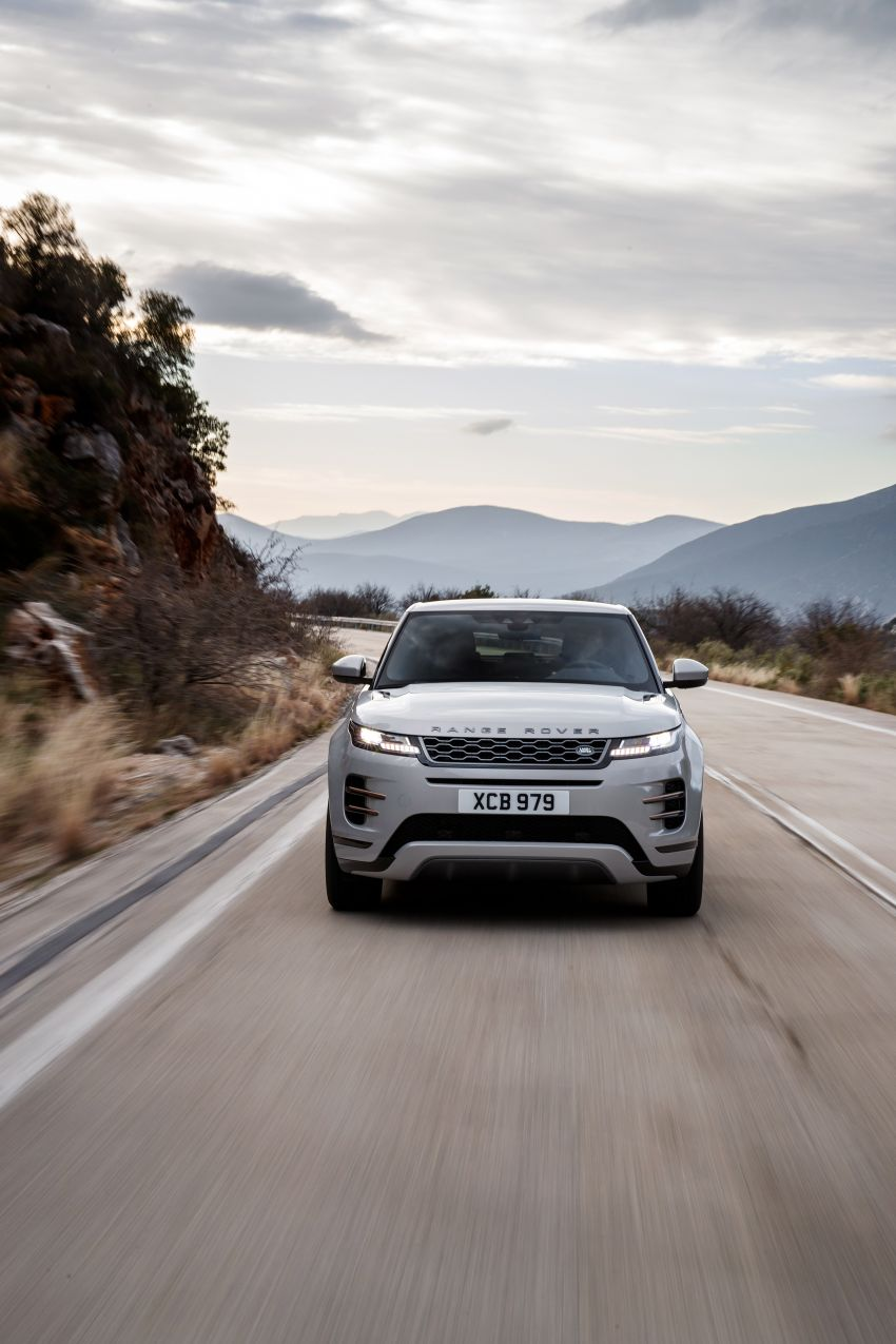 MEGA GALLERY: 2019 Range Rover Evoque in Greece Image #951829