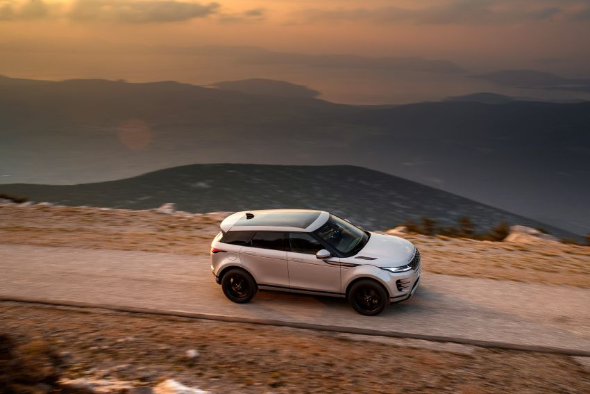 MEGA GALLERY: 2019 Range Rover Evoque in Greece Image #951835