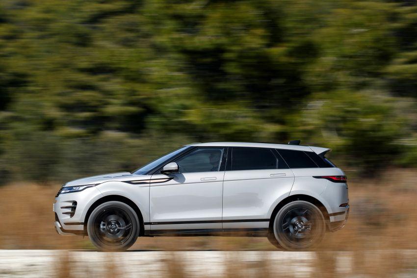 MEGA GALLERY: 2019 Range Rover Evoque in Greece Image #951836