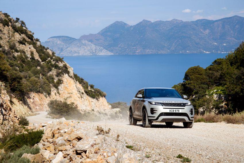 MEGA GALLERY: 2019 Range Rover Evoque in Greece Image #951837