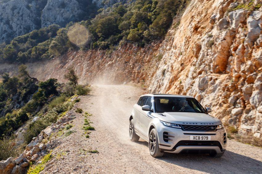 MEGA GALLERY: 2019 Range Rover Evoque in Greece Image #951838