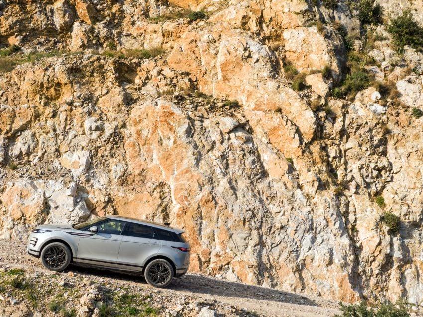 MEGA GALLERY: 2019 Range Rover Evoque in Greece Image #951839