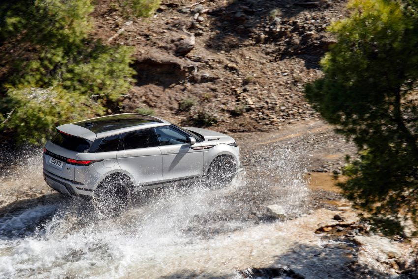 MEGA GALLERY: 2019 Range Rover Evoque in Greece Image #951840