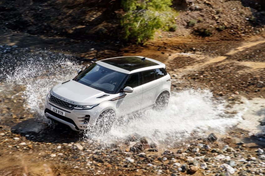 MEGA GALLERY: 2019 Range Rover Evoque in Greece Image #951841
