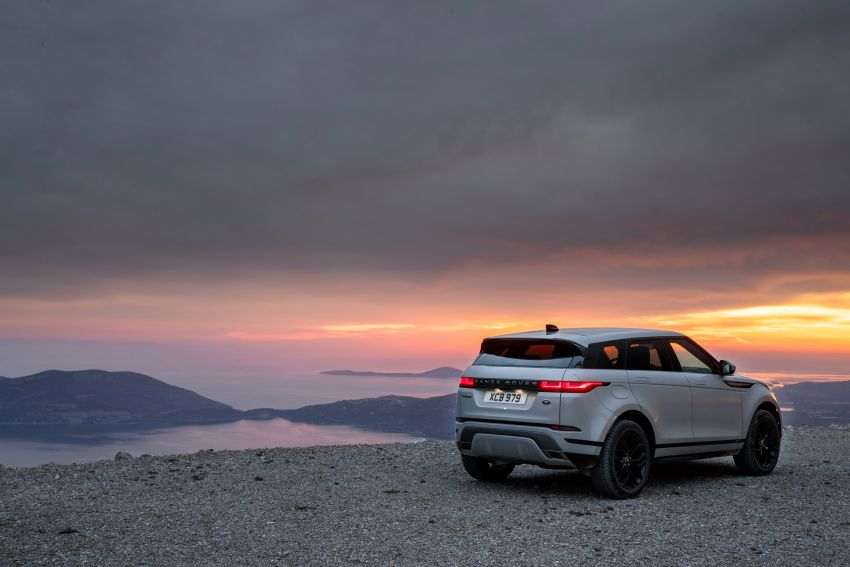 MEGA GALLERY: 2019 Range Rover Evoque in Greece Image #951849