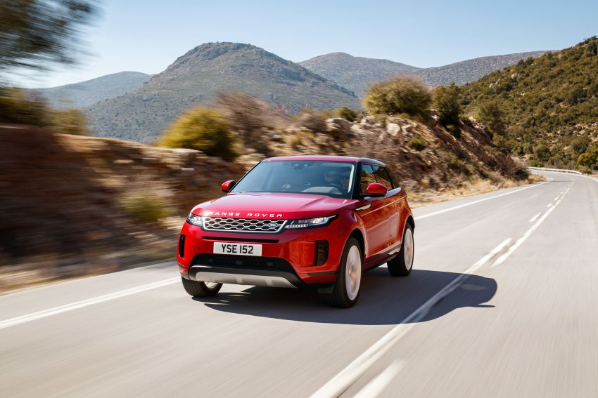 MEGA GALLERY: 2019 Range Rover Evoque in Greece Image #951797