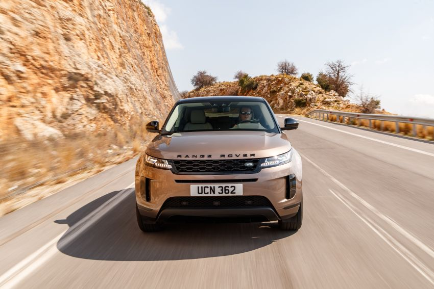 MEGA GALLERY: 2019 Range Rover Evoque in Greece Image #951855