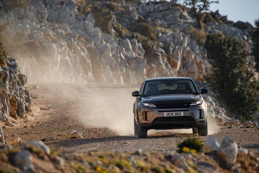 MEGA GALLERY: 2019 Range Rover Evoque in Greece Image #951864