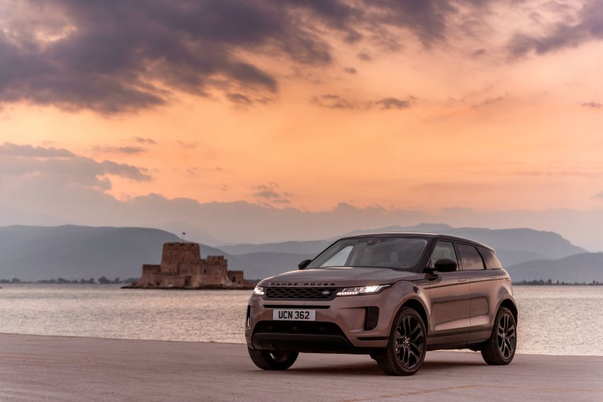 MEGA GALLERY: 2019 Range Rover Evoque in Greece Image #951867