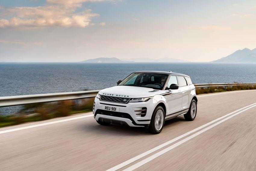 MEGA GALLERY: 2019 Range Rover Evoque in Greece Image #951869