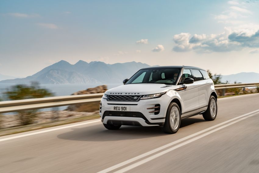 MEGA GALLERY: 2019 Range Rover Evoque in Greece Image #951870