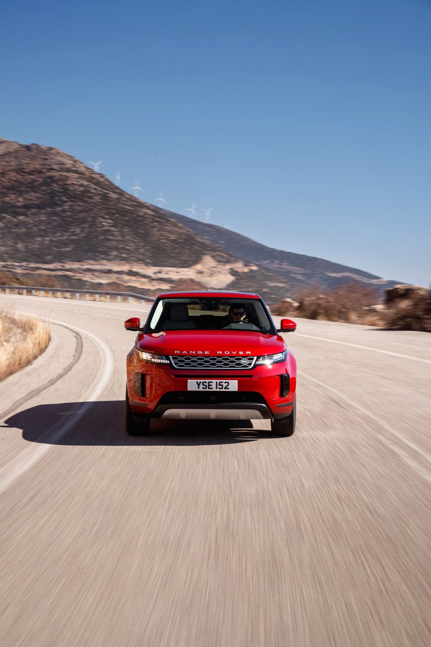MEGA GALLERY: 2019 Range Rover Evoque in Greece Image #951799