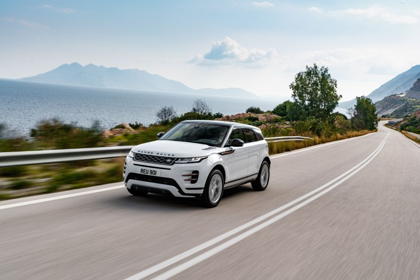 MEGA GALLERY: 2019 Range Rover Evoque in Greece Image #951871